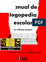 Manual de Logopedia Escolar. Un Enfoque Práctico