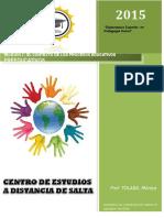 PEDAGOGIA 1 El Contexto de Los Procesos Educativos