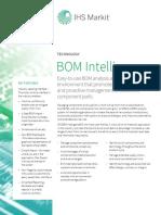 BOM Intelligence 2017