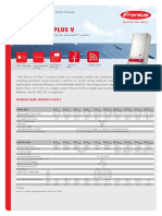 Fronius IG Plus v Inverter-datasheet