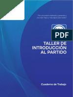 Manual del Taller de Introducción al Partido Acción Nacional TIP 2019