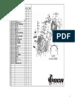 Despiece Motor VOCA ZongShen.155 ZS