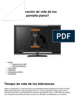 Cual Es La Duracion de Vida de Los Televisores de Pantalla Plana 10649 Mm1ucr