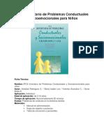 IPCS Ficha Técnica y Descripción