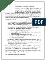 Class Assignment - Consumer Behavior_1820