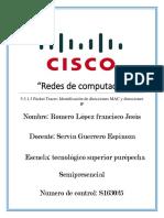 5.3.1.3 Packet Tracer Identificacion de direcciones MAC y direcciones IP.docx