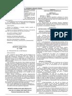 decreto legislativo 1186