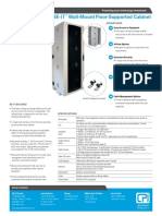 Cube It Floor Supported Datasheet