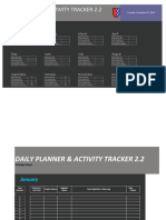 Daily Planner & Activity Tracker 2.2