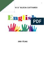 Cuadernillo 2do Ingles 2019 EESO 613