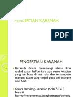 Tugas Al Islam Karamah