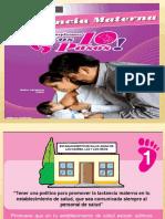 Los 10 Pazos Para Lactancia Materna