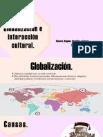 Globalización e Interacción Cultural