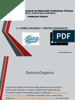 3.1 Quimica Organica y Grupos Funcionales