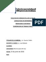 ELABORACION DE TRABAJO FINAL INTEGRADOR I UNIDAD III.docx