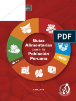 Guias Alimentarias Poblacion Peruana