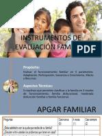 Instrumentos de Evaluación Familiar