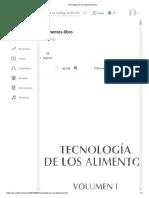 Tecnologia de Los Alimentos-libro