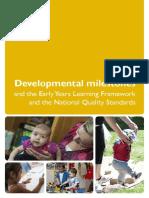 Booklete Developmental Milestones