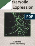 Simon Baumberg - Prokaryotic Gene Expression
