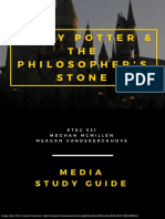 harry potter media guide