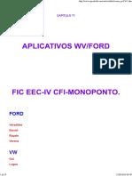 Injeção Monoponto Cif gol 1.6 ap