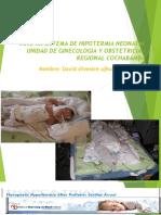 sistema de hipotermia neonatal