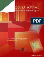 Pesquisa Social - reflexões teóricas e metodológicas (livro).pdf