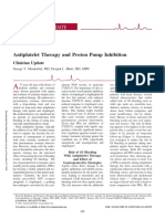 Journal PPI Gastroprotection in Acs Setting