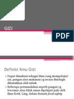 Materi Gizi & Pkip