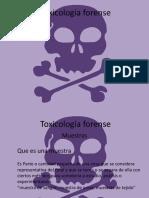 Toxicología forense 2