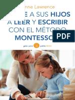 Ayude a Sus Hijos Metodo Montessori