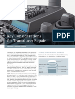 Key Considerations for Transducer Repair 03488131