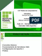 Aula 14 Serviços Internet (Servidor Web Apache)