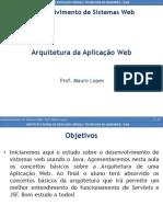Arquitetura Da Aplicação Web