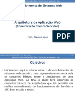 Arquitetura Da Aplicação Web (Comunicação Cliente_Servidor)
