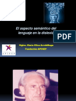 Aspecto Semántico Del Lenguaje en La Dislexia Arrebillaga1