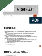 3. Regresi & Korelasi
