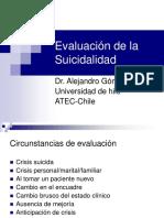 Evaluación suicidalidad