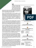 Benito Mussolini - Biografía