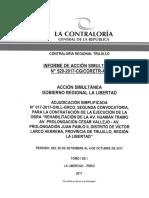 Informe 608-2015-CG-MPROY-As Instalación de Un Centro de Convenciones en Lima - Peru