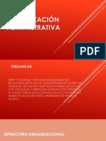 ORGANIZACIÓN Administrativa en la educación