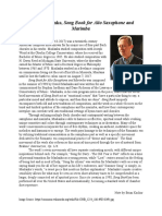 Art of Interpretation Part 5- Program Note Final Draft- Brian Kachur (GSI- Chuyi Zhu)