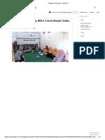 Pembinaan Program BISA Untuk Bunda Yatim Di Makassar