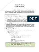 Analisis Materi dan Bahan Ajar
