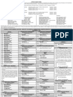 Sample Ballot for Nov 2 Elections in Shelby County