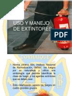 Uso y Manejo de Extintores (1)