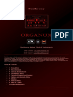 Organux Virtual Organ VST Instrument Software