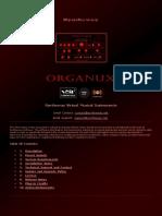 Organux VST VST3 Audio Unit