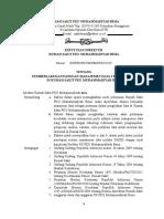 SK, Daftar Isi, Kata Pengantar Manajemen Data 2003